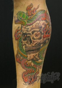 Shinji Tattoo Skull 8