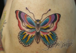 Shinji Tattoo Butterfly 23