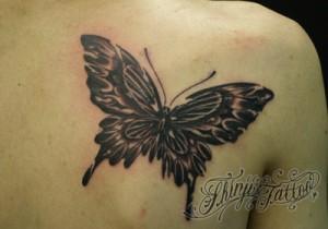 Shinji Tattoo 蝶 25