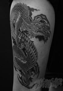 龍のタトゥー(ドラゴン) 22